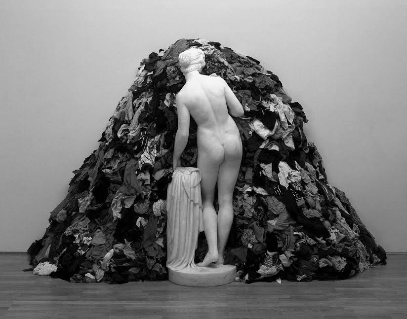 Venus of the Rags 1967,1974 Michelangelo Pistoletto born 1933 Purchased with assistance from Tate International Council 2006 https://www.tate.org.uk/art/work/T12200