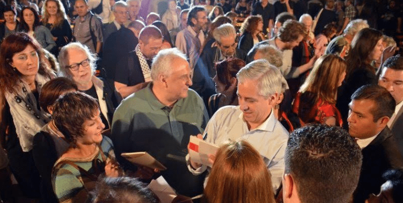 Ο Αλβάρο Γκαρσία Λινέρα στο Resistance Festibal 2015