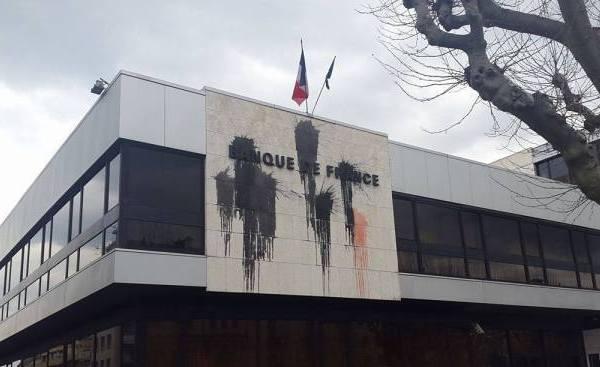 Η Τράπεζα της Γαλλίας… κατάλληλα διακοσμημένη