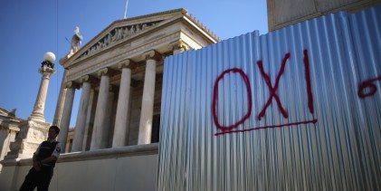 Το «όχι» είναι η γλώσσα του ελληνικού λαού -Tο editorial του Δρόμου που κυκλοφορεί
