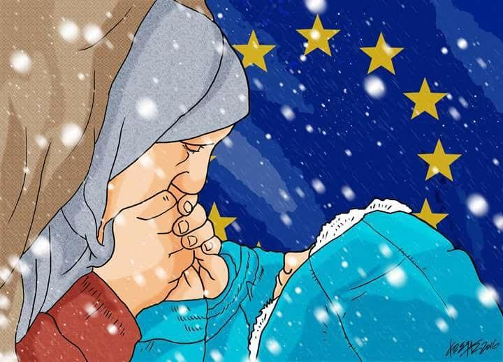 Πρόσφυγες στο κρύο. Του Κ. Γρηγοριάδη
